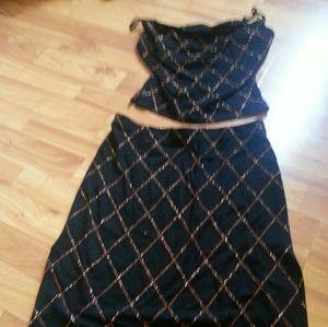 Guess top & skirt
